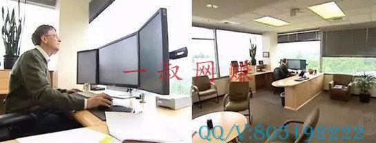 互联网 CEO 们的办公桌长什么样?_ 副业网站,玩什么游戏可以赚钱插图2